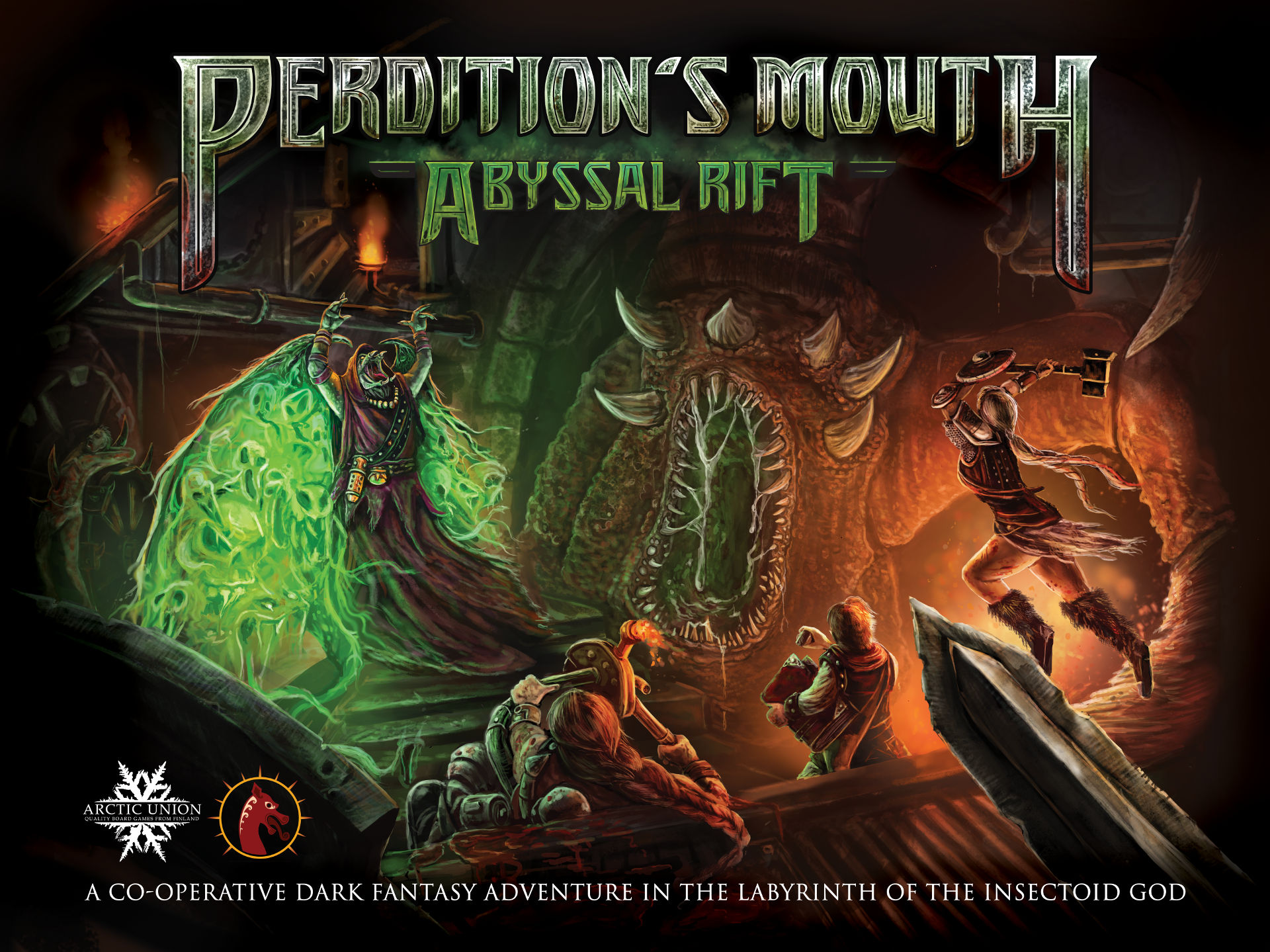 Perdition's Mouth:Abyssal Rift Box Cover